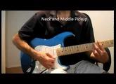 Fender Standard Stratocaster Pickup Demo & Comparison - Ceramic vs Lace Sensor vs Alnico