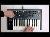 Novation // Bass Station II - Arpeggiator and sequencer