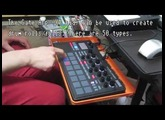 Part 4: Electribe Sampler drum rolls/fills with Gate Arp