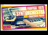 FARFISA SYNTORCHESTRA (1975) + Krautrock Phaser DEMO (analog synth + schulte  clone) #39