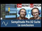 Samplitude Pro X2 : la conclusion
