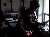 Phil's Epiphone Les Paul Kaoss Pad Mod Pt 3