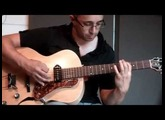 'Round midnight | Thelonious Monk guitar cover | Godin 5th avenue kingpin