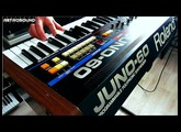 "Roland Juno-60 Synthesizer  ""Goodbye 80s"""