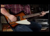 Mike Lull T-Bass 4-String - JHS Low Drive Bass Overdrive