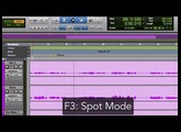 Pro Tools Edit Modes and Edit Tools