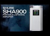 Shure SHA900 Portable Listening Amplifier