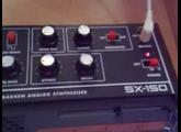 Gakken SX-150 sequenced via  Novation BassStation