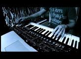 DSI Sequential Prophet 6 + Moog Sub37 + Elektron Analog Rytm (electronica jam)