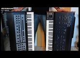 Oberheim OB-X vs. OB-Xa Vintage Analog Synthesizer