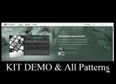 DROP SQUAD - Demo Kit All Patterns - Maschine Expansion Native Instruments