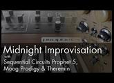Midnight Improvisation: Theremin Session #8