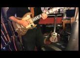 guitare SG steampunk par bolino custom