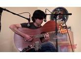 Leonard Grigoryan plays the Kinny Stereo Acoustic Guitar