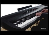 Korg SP-280 Digital Piano - Acoustic and Electric Piano Performance