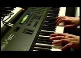 Yamaha V50 FM workstation demo presets - the first 50 sounds