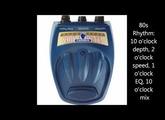 Danelectro Cool Cat Chorus Demo HD
