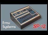 E-MU EMU SP-12 TURBO Vintage Drum Machine 1985 | HD DEMO