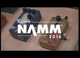 Walrus Audio's Julia Chorus/Vibrato and Contraband Fuzz at NAMM 2016