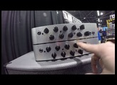 NAMM 2016 - Darkglass Electronics' New Microtubes 700 Bass Amp | GEAR GODS