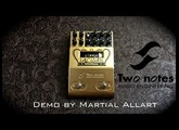 Two notes Le Crunch Pedal Preamp demo