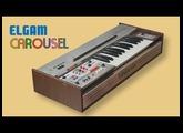 ELGAM CAROUSEL Analog Groovebox 1976 | HD DEMO