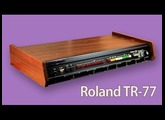 ROLAND TR-77 Analog Rhythm Box 1973 | HD DEMO | SAMPLE PACK