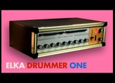 ELKA DRUMMER ONE Analog Rhythm Box 1969 | HD DEMO | SAMPLE PACK