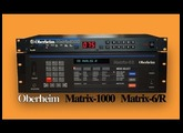 OBERHEIM MATRIX-1000 / MATRIX-6 Analog Synthesizer | DEMO | NEW PATCHES