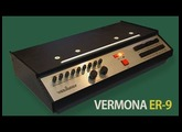 VERMONA ER-9 Analog Rhythm Box 1976 | HD DEMO | SAMPLE PACK