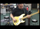 Used 72 Fender Telecaster Bass Demo .MOV