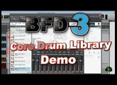 BFD3 Core Drum Library - Demo