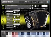 Guerrini Professional 4 accordion for NI Kontakt VST - Demo [Virtual Acoustic]
