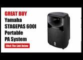 Yamaha PA System | Yamaha STAGEPAS 600I Portable PA System