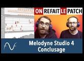 Melodyne 4 : la conclusion