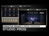 Addictive Drums 2 ADpak Overview: Studio Prog