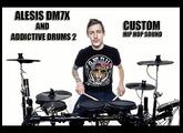 Alesis Dm7x and addictive drums 2 - Hip Hop custom sound test