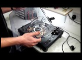 How to modify the strobe light on a Technics SL MK2