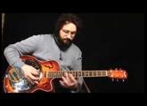 Fender FR50CE Acoustic-Electric Resonator: OOOO, SHINY