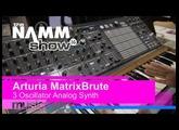 NAMM 2016: Arturia MatrixBrute