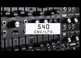 Using the Roland SYSTEM-500 modular series (ENV/LFO)
