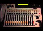 Yamaha 01V  (testing - motorised faders & LEDs)