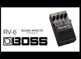 Boss RV-6 Reverb Effects Pedal Demo w/ Tom Quayle