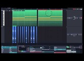 Tracktion T7 Group and Linked Clips