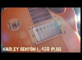 Harley Benton L-450 Plus Honey Burst