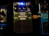Behringer Echo Machine Pedal Demo