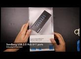 Unboxing & Overview Sandberg 7-Port USB Hub (DEUTSCH)