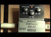 Behringer Vintage Delay VD400 test review Rockday