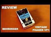 Review - Behringer Vintage Phaser VP1