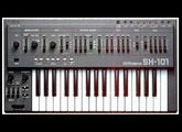 Roland System 1 SH101 plugout demo